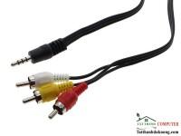Cable 3.5mm ra 3 đầu hoa sen, dùng cho Android TV Box cổng AV của TV