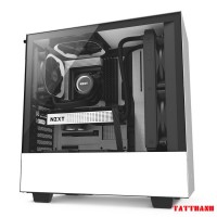 CASE NZXT H500 BLACK/WHITE