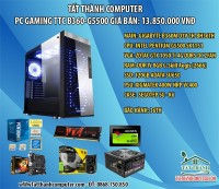 PC GAMING TTC B360-G5500/B360/RAM 8GB/VGA 1050TI
