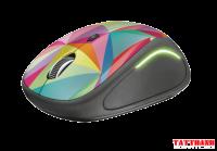 Chuột Không Dây 2.4G FULLER FM8000-02 Color Led (LED Chuyển Màu)