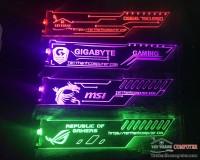 GIÁ ĐỞ VGA LED RGB HOẶC NHẢY THEO NHẠC