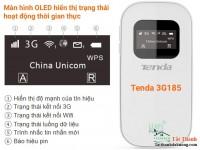 Bộ phát Wifi Tenda 3G185 sử dụng sim 3G tốc độ cao CH