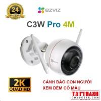 Camera Wifi EZVIZ C3W Pro 4MP Smart home camera (màu sắc 24/7, nhận diện người AI, báo động, đàm thoại 2 chiều)