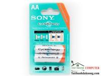 Pin AAA và AA Sony Sạc Đựoc