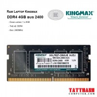 RAM laptop KINGMAX (1x4GB) DDR4 2400MHz