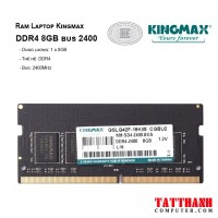 Ram Laptop KINGMAX™ DDR4 8GB bus 2400MHz