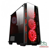 Case Xigmatek Astro Red Plus EN41312