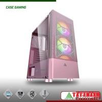 CASE VSPTECH GAMING B86 PINK (HỒNG)
