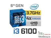 Cpu Core™ Intel® Core™ i3-6100 Processor Socket  1151 BOX (CH)