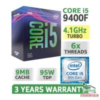 CPU Intel Core i5-9400F...