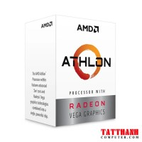CPU AMD Athlon 3000G (2C/4T, 3.5 GHz, 4MB) - AM4