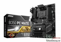 Mainboard MSI B350 PC MATE - AM4
