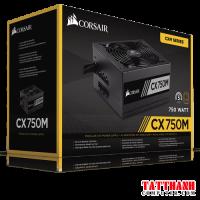 Nguồn máy tính Corsair CX750M 80 Plus Bronze - Semi Modul