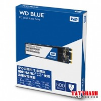 Ổ cứng SSD Western Digital Blue 500GB M.2 2280 SATA 3 - WDS500G2B0B