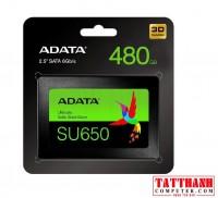 Ổ CỨNG SSD ADATA SU650 480GB SATA