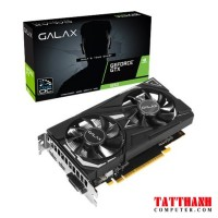 Card màn hình GALAX GTX 1650 (1 Click OC) Black ( 65SQH8DS08EX) - (4GB GDDR5, 128-bit, DVI+ HDMI+DP)