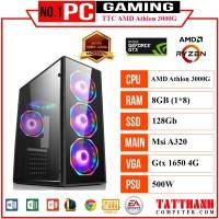 PC GAMING TTC Athlon 3000G (CPU AMD Athlon 3000G/VGA 1650 4G/RAM 8G)