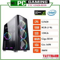 PC GAMING TTC (CPU INTEL G5420/VGA 1650 4G/RAM 8G)