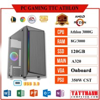 PC GAMING TTC Athlon (CPU AMD Athlon 3000G/VGA Onboard/RAM 8G)