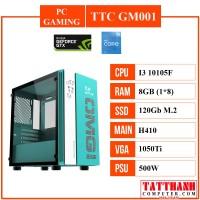 PC GAMING TTC 001 (CPU INTEL I3 10100F/VGA 1050ti 4G/RAM 8G)