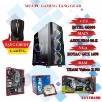 PC GAMING TTC (CPU INTEL G5400/VGA 1650 4G/RAM 8G)