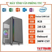 MÁY TÍNH TTCG6408 VĂN PHÒNG (Pentium G6400/RAM 4G /SSD120G/PSU 300W)