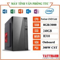MÁY TÍNH TTCG5420 VĂN PHÒNG (Pentium g5420/RAM 8G /SSD240G/PSU 300W)