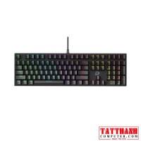 Bàn phím cơ Gaming DAREU EK810 - Black (MULTI-LED,Brown switch)