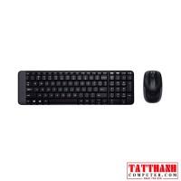 Bộ bàn phím chuột không dây Logitech MK220 Wireless USB