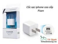 Cóc Sạc Iphone 4-5-6 Dòng Pisen Chính hãng