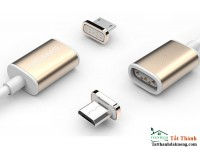 Cáp Sạc Từ Usams Metal Magnetic Micro USB For Android And Windows Phone