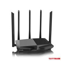 Bộ Phát Wifi Tenda AC7, Hai Băng Tần, Tốc Độ 1167Mbps, 5 anten 6dbi Cho Khả Năng Phủ Sóng Mạnh Mẽ