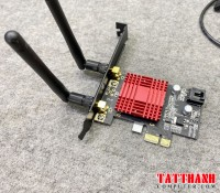 Card Wifi + Bluetooth 4.0  Intel® Wireless-AC Băng tần Kép 7260 - Adapter PCI