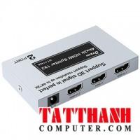 HUB 1 HDMI RA 2 HDMI DTECH (DT7142A)