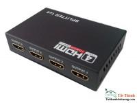 Bộ chia HDMI 1 ra 4 HDMI SPLITTER 1 TO 4 Full HD 1080P(Đen)