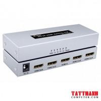 HUB 1 HDMI  RA 4 HDMI DTECH (7144A)