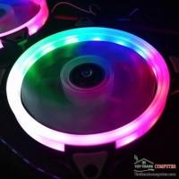 FAN CASE RGB 12CM