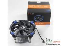 FAN Cpu ID Cooling DK-03 Halo Blue Led Riing ( Intel 115x )