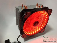 Fan Cpu ID Cooling 4 ống đồng 33 Led (Red Led)