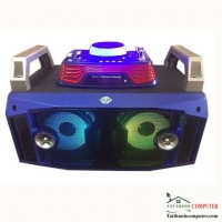 Loa bluetooth karaoke DJ-717 công suất lớn 20W
