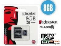 THẺ NHỚ MICRO SD 8G KINGTON CLASS 10 BOX