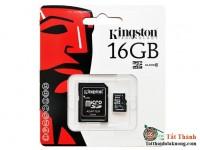 THẺ NHỚ MICRO SD 16G KINGTON CLASS 10 BOX