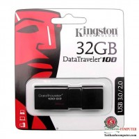 Usb 32GB 3.0 Kingston Data Traveler 100G3 Black