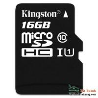 Thẻ nhớ Micro SDHC Kingston 16GB (Class 10)