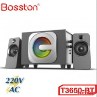 Loa Bosston Bluetooth T3650-BT 2.1 Đèn Led RGB