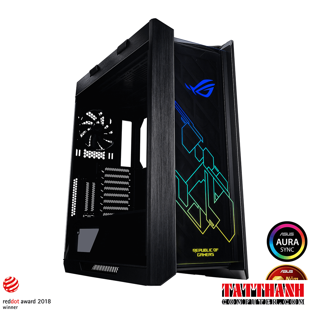 rog strix helios gx601 mid tower gaming case