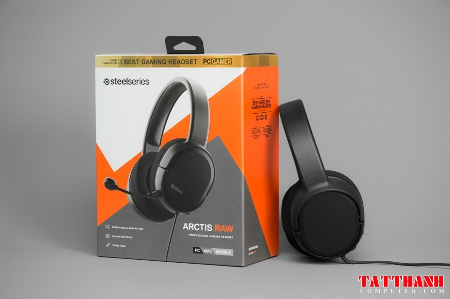 steelseries arctis raw gaming headset 2